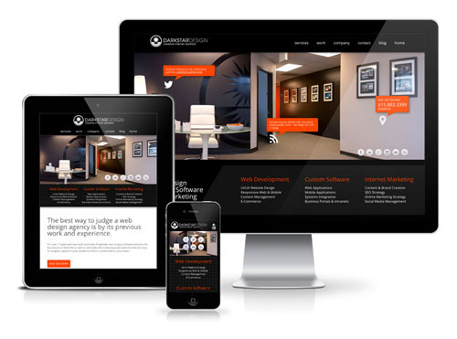 Darkstar Digital Agency - Want a Responsive Website Design?