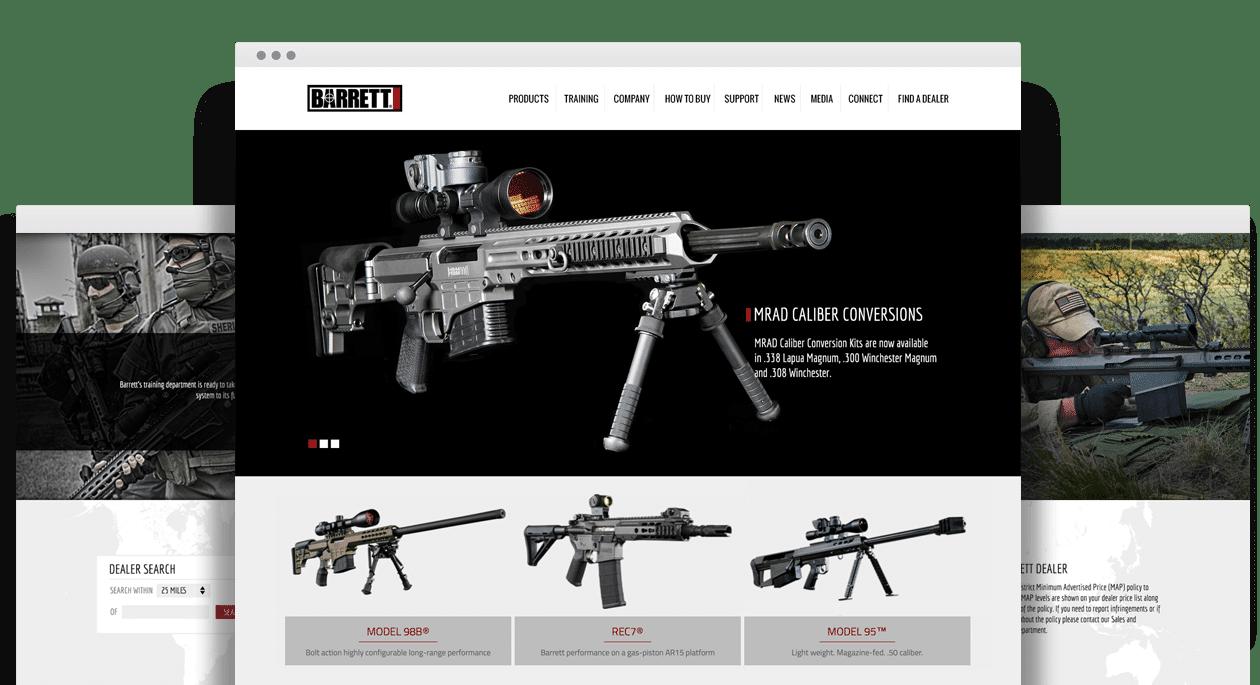Barrett Website Design