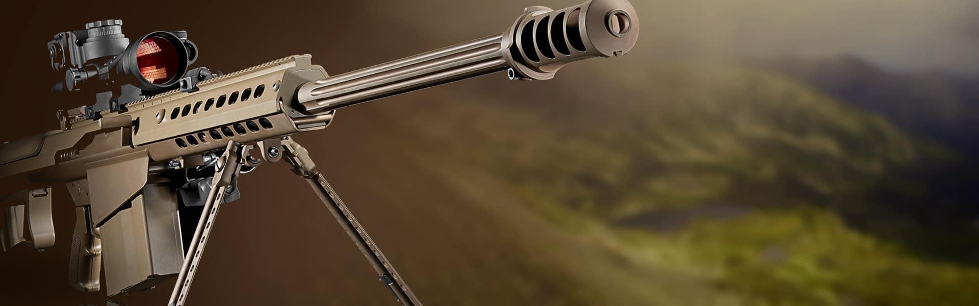 Responsive Website E-commerce and Software Development for Barrett Rifles
