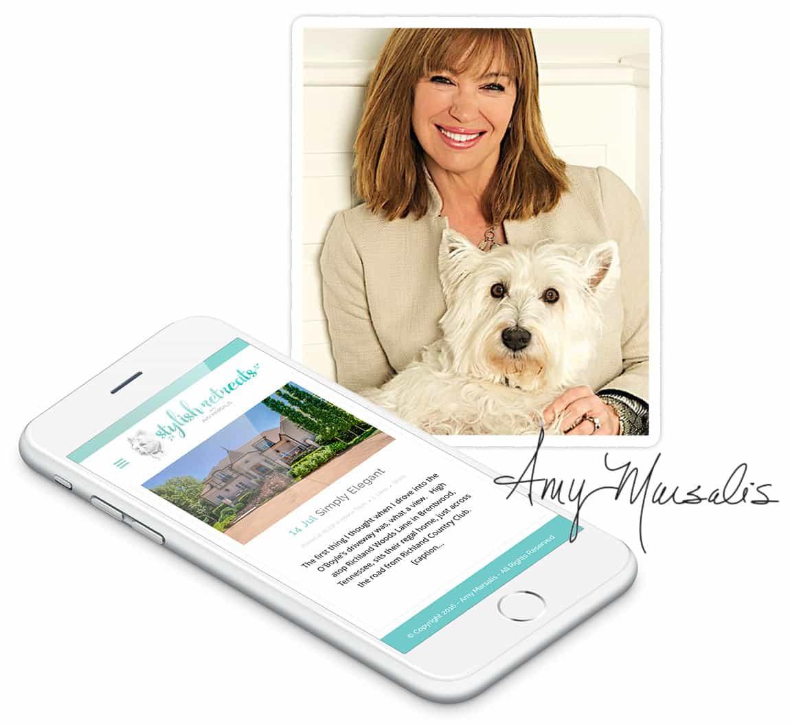 Stylish Retreats by Amy Marsalis - Nashville Web Design